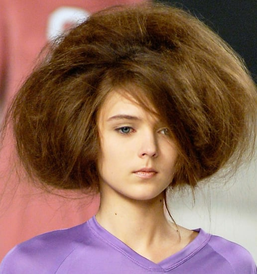 Catwalk Trend For Bird's Nest Hair as Seen on Mischa Barton, Olsen Twins and Girls Aloud Sarah Harding.