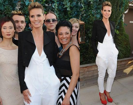 Pictures of Heidi Klum PR Premiere