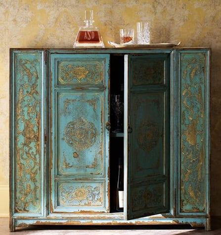 Crave Worthy: Horchow Hand-Painted Cabinet