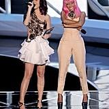 2010: Katy and Nicki Minaj Shared the Stage