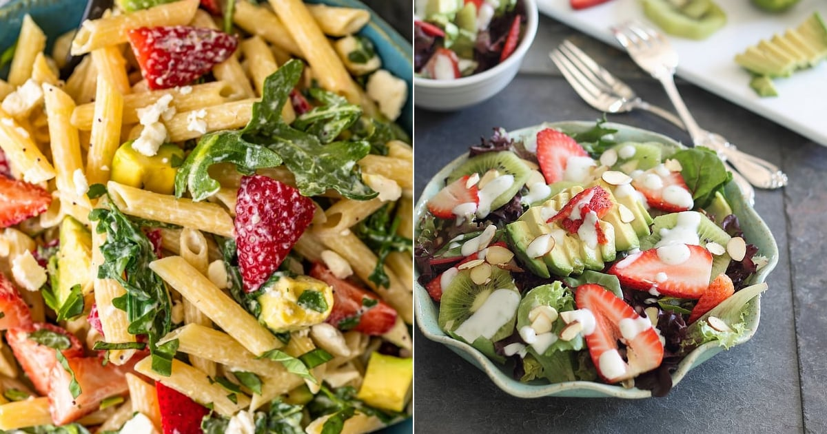 The Best Summer Salad Recipes That Include Strawberries