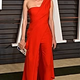 We still dream about this Donna Karan Atelier jumpsuit that Diane wore to the Vanity Fair Oscar Party in 2015.