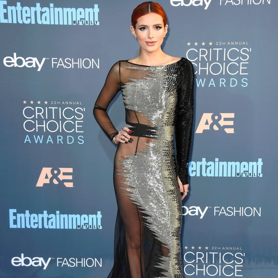 Bella Thorne at the Critics' Choice Awards 2017