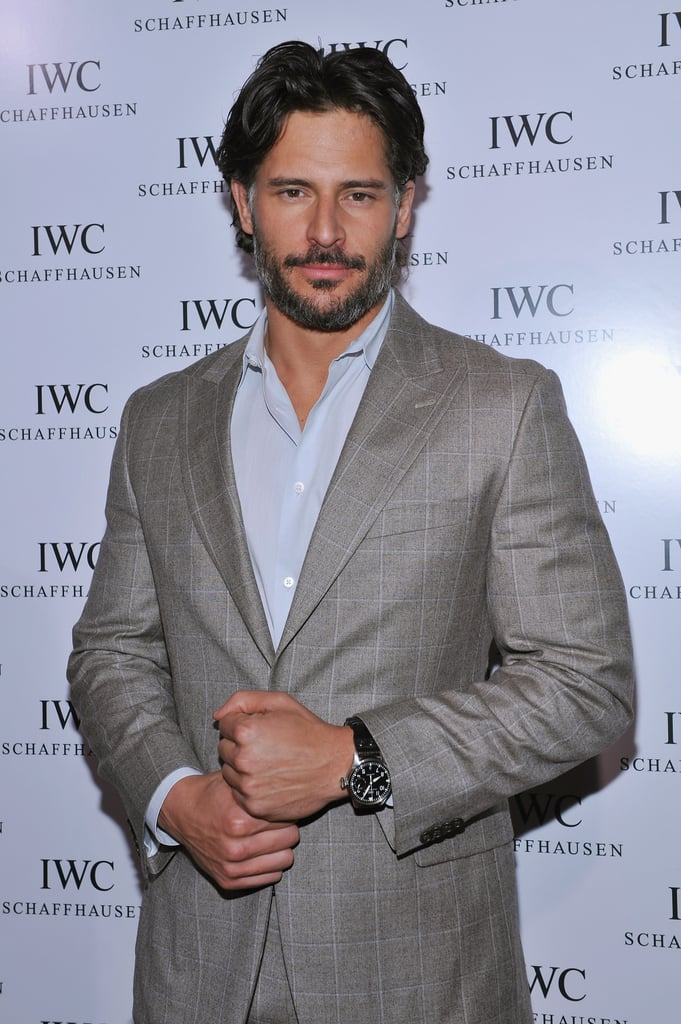 Joe Manganiello looked hot.