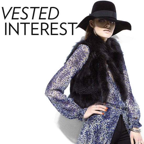 Shop Faux Fur Vests For Fall 2011