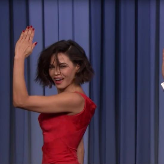 Jenna Dewan Rhythm Nation Dance on Tonight Show Video 2018