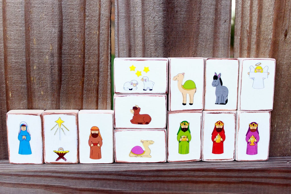 Made 4 Munchkins Wood Nativity Set