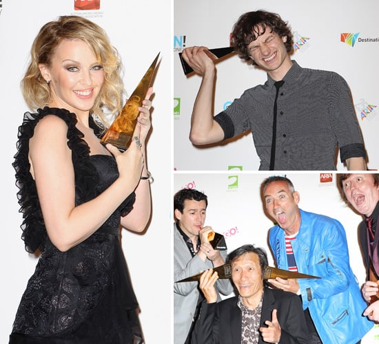 Kylie Minogue, Gotye, The Wiggles, Boy & Bear and More Winner Pictures in 2011 ARIA Awards Press Room