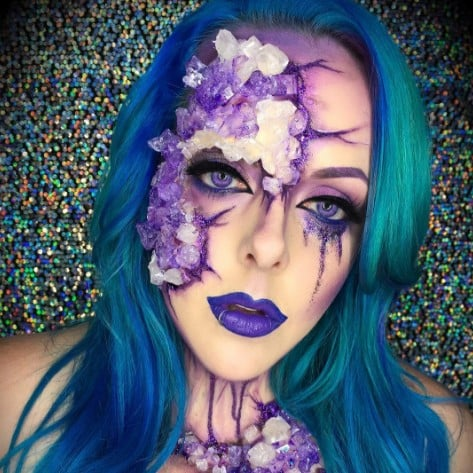 15 easy last minute halloween costume face paint ideas popsugar beauty