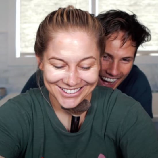 Shawn Johnson and Andrew East Not My Arms Makeup Video