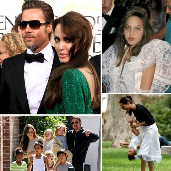 Angelina Jolie Engaged to Brad Pitt Pictures