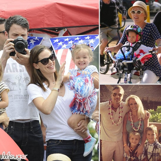 See How Celeb Tots Spent Their Fourth of July!