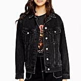 Topshop Oversized Denim Jacket