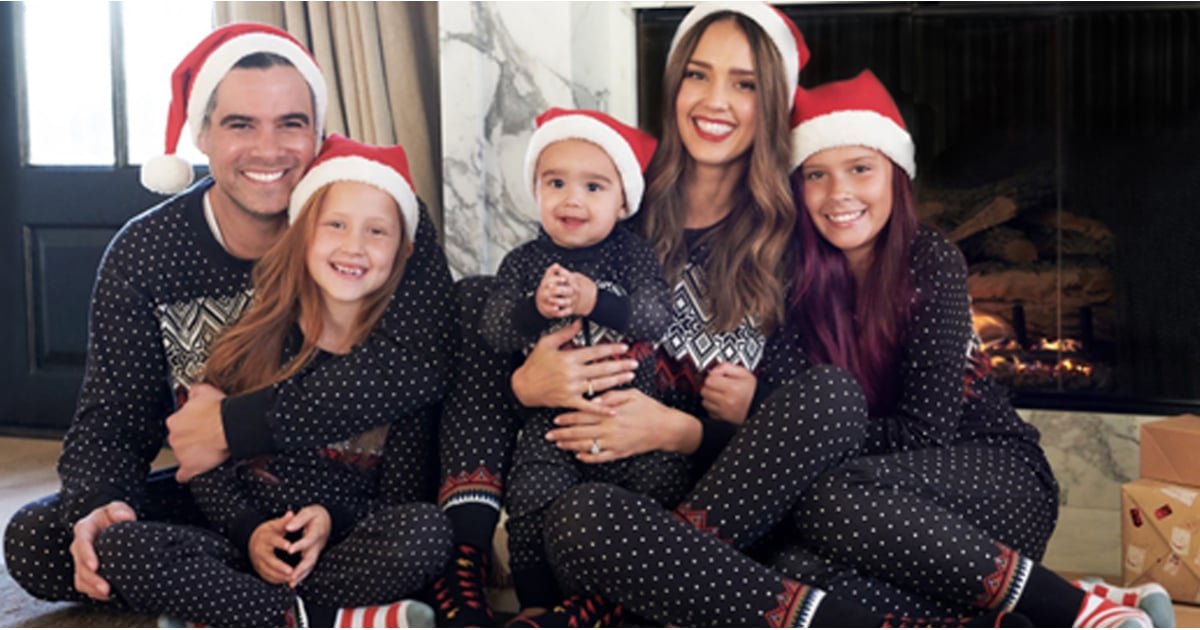 Jessica Alba\'s Family Holiday Card Is Filling Us With All the Warm ...