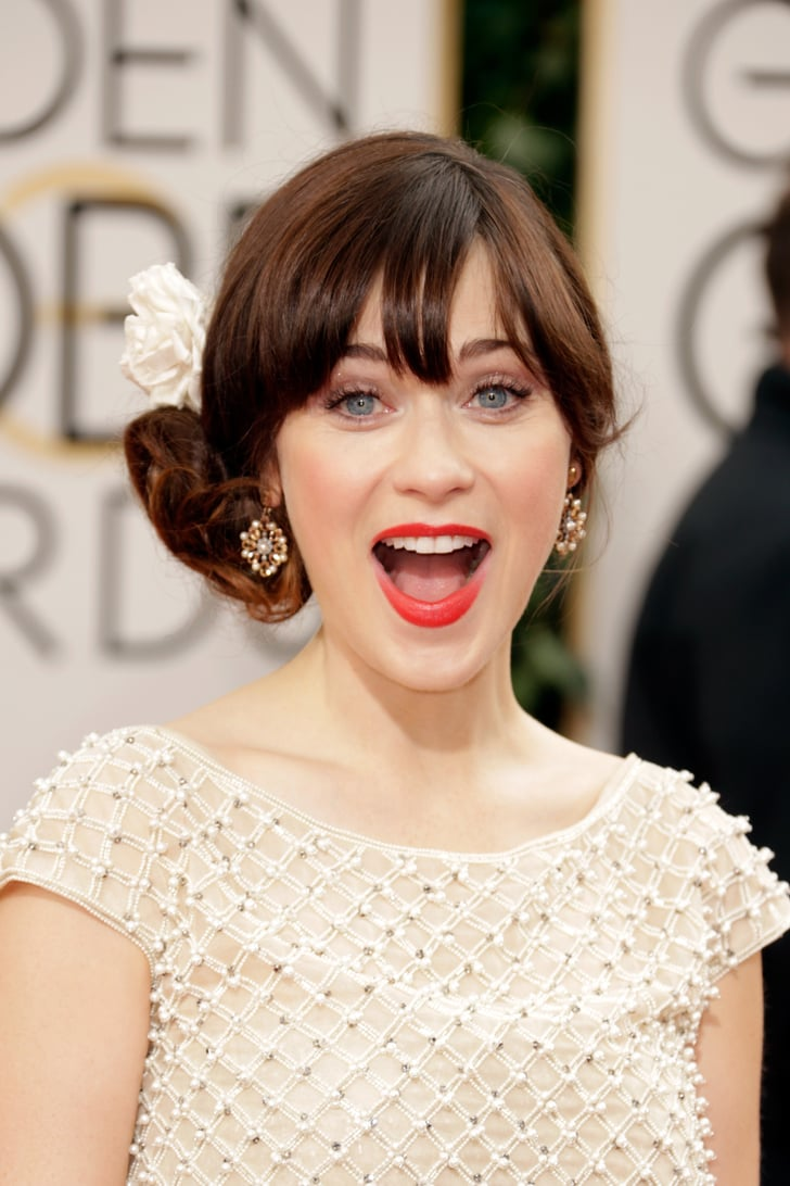 We're Just as Excited About Globes Hair Accessories as Zooey!