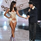 Pictured: Alessandra Ambrosio and The Weeknd