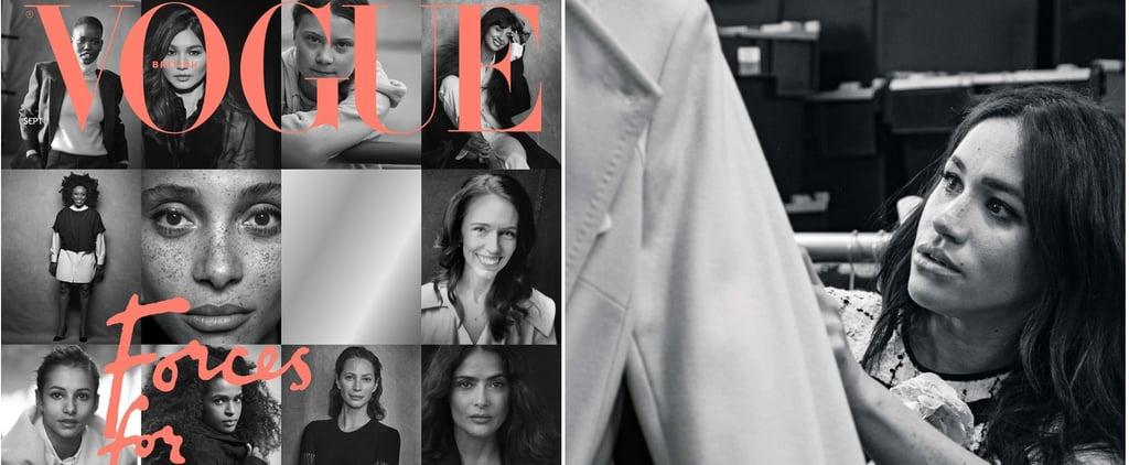 Meghan Markle Guest Editor of British Vogue 2019 Sept
