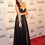 Liv Tyler supports the NYC ballet.