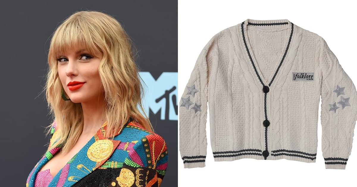 escalation la rete Mathis  Taylor Swift's Folklore Cardigans, Sweaters, and Other Merch   POPSUGAR  Fashion