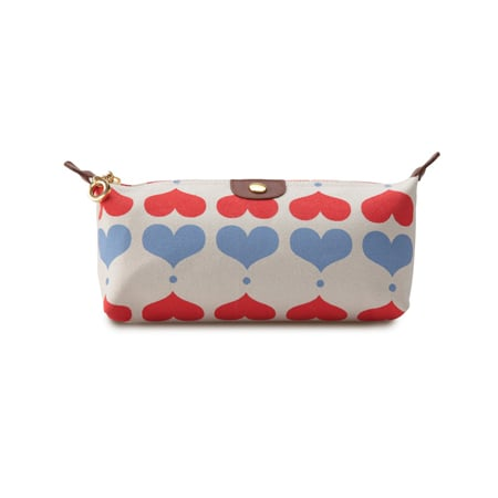 Apple & Bee Compact Cosmetic Case Lovehearts, $36.95