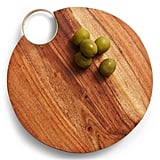 Nordstrom at Home Goldtone Handle Wooden Cheese Board