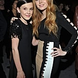 Posing With Amy Adams at a W Magazine Event in 2017