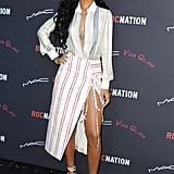 Rihanna at Roc Nation's Pre-Grammys Brunch
