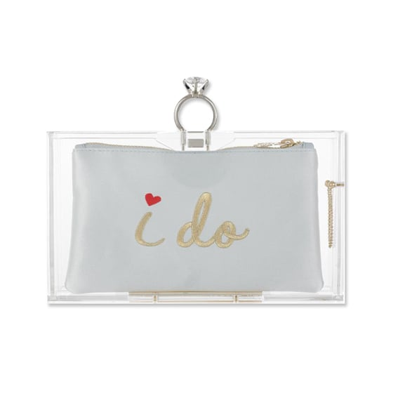 Charlotte Olympia Marry Me Pandora Clutch