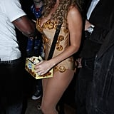 Mariah Carey dressed up in a skimpy cookie costume for a party in 2008 — her then-husband Nick Cannon accompanied her as a milk carton.