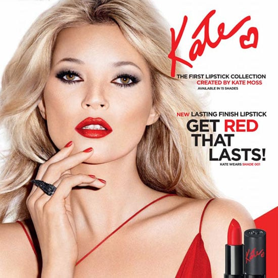 Kate Moss Launches Lipstick Line With Rimmel London
