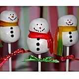 Snowman Cake Pops