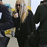 Ashley Olsen wore sunglasses in LA.