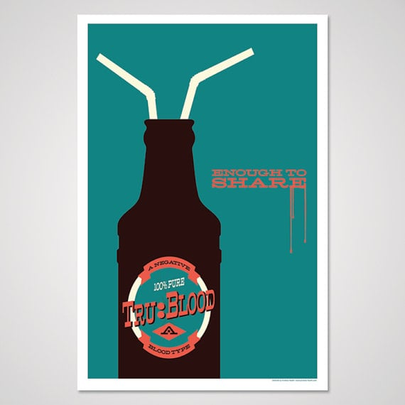 True Blood-Inspired Art Print ($10)
