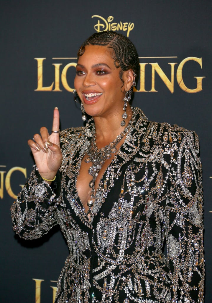 Beyoncé's Outfit At The Lion King Premiere in LA 2019
