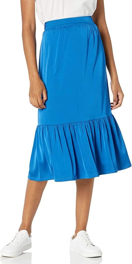 The Drop Jerry Midi Skirt