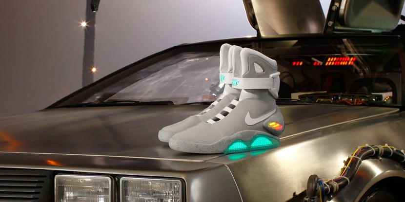 "More Pics of the Nike MAG ""Marty McFly Shoe"""