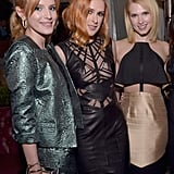 Bella Thorne and Rumer Willis had matching hair when they posed with Hart of Dixie's Claudia Lee.