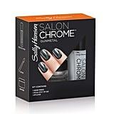 Sally Hansen Salon Chrome in Gunmetal