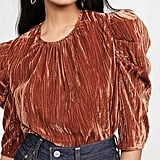 Wayf Greyson Puff-Sleeve Top