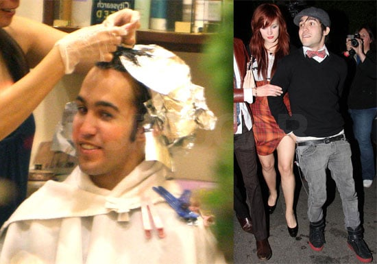 Photos of Pete Wentz and Ashlee Simpson in LA, Interview With Pete About Bronx and His Fear of Being Murdered