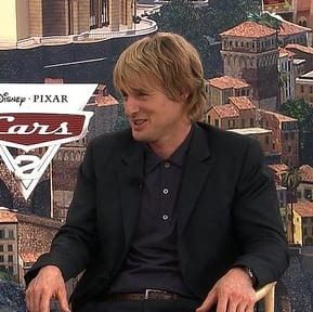 Owen Wilson and Eddie Izzard Cars 2 Interview