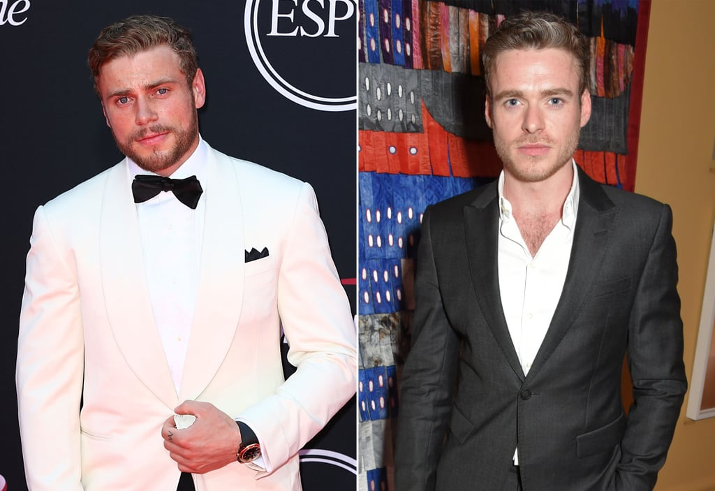 Richard Madden and Olympic Look-Alike Gus Kenworthy