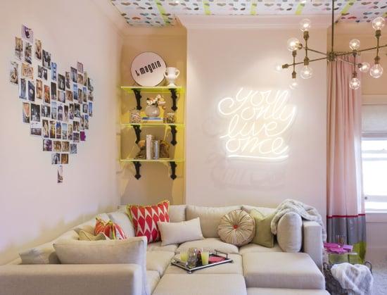 Hangout room decor