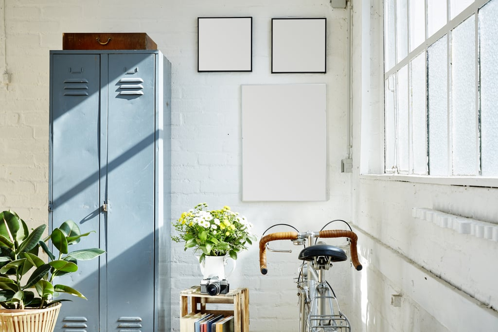3. Create Cool Locker Room-Style Storage in the Mudroom
