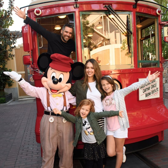 Jessica Alba and Her Family at Disney March 2017
