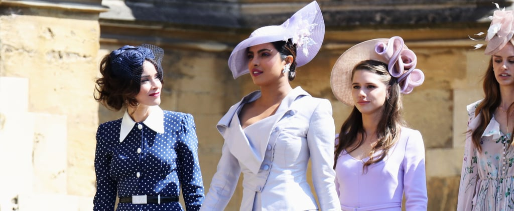 Priyanka Chopra Outfit at the Royal Wedding 2018