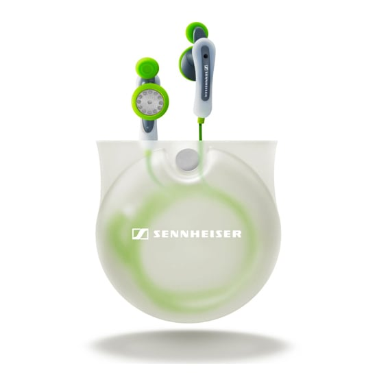 Sennheiser Twist-to-Fit Earbuds