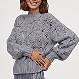 H&M Lace-Knit Sweater