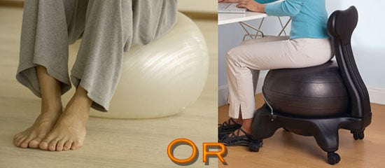 Fit Tip: Trade Your Office Chair For an Exercise Ball