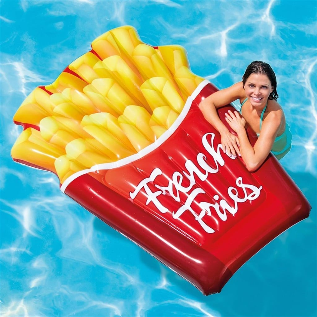 intex inflatable french fries float best pool floats on. Black Bedroom Furniture Sets. Home Design Ideas